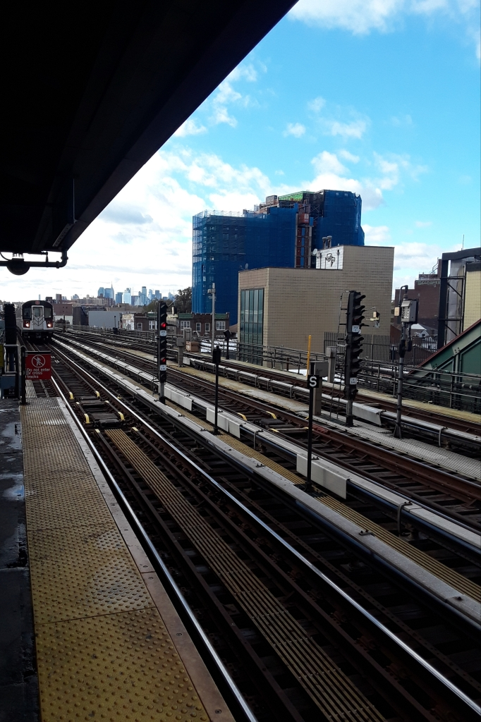 Subway Station in Queens, NY